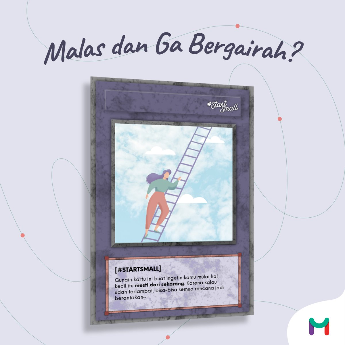 Do you have this card? #StartSmall