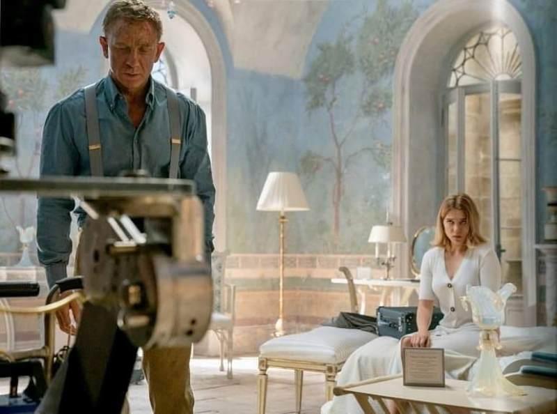 #JamesBond #Bond25 #NoTimeToDie #movie #cinema #BondJamesBond #behindthescenes #filmproduction #filmcrew #setlife #crewmatter #Bondfilm #cast #actor #DanielCraig #LeaSeydoux #filmset