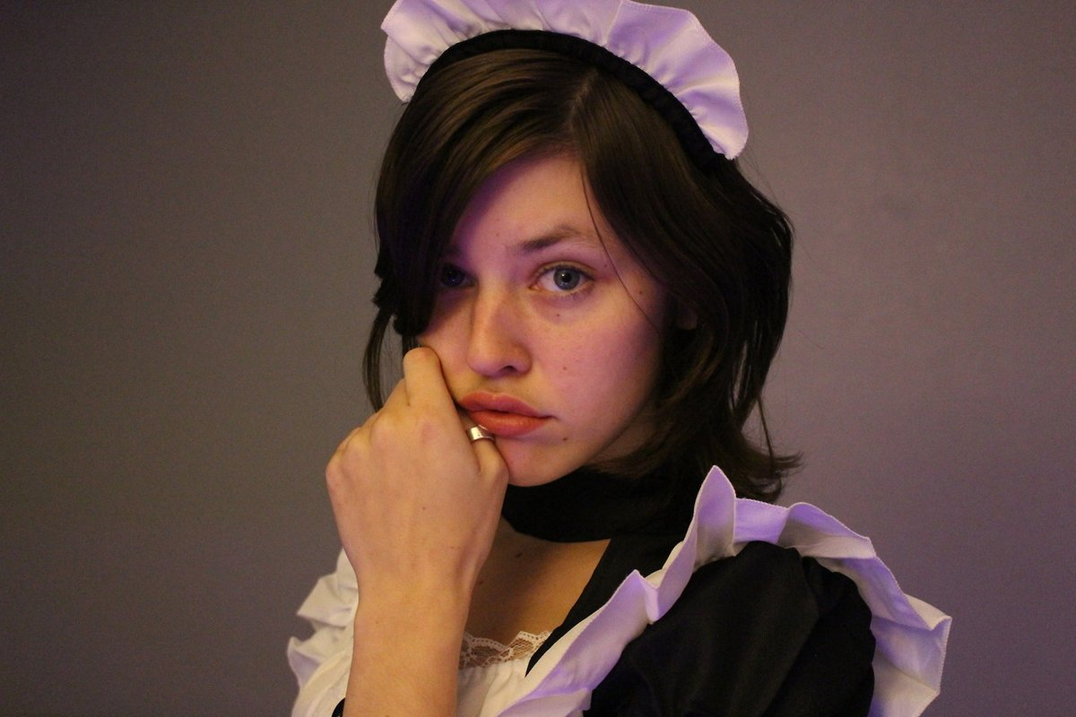 #emmachoicee #maid #maids #kawaii #kawaiimaid #kawaiimaids #nomakeup #mouth #lips #pretty #cute #adorable #fun #fine #beauty #beautiful #anime #battlemaid #cosplay #cosplaycutie #pastel #led #violet #emmac_ #emmachase #emmac_cb #model #modeling #models