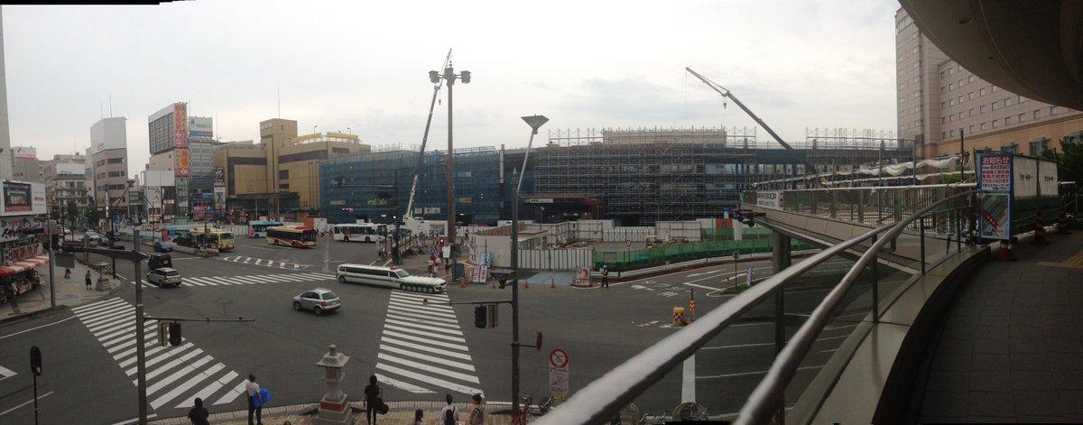 建設中の長野駅  #お前よくぞそんなもん撮ってたな選手権