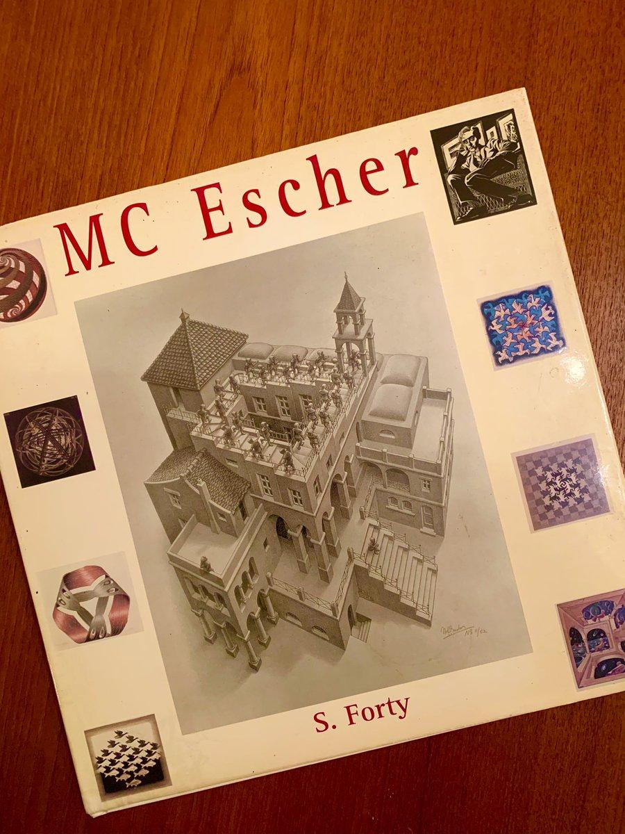 """...and then he said, ""I'm not an artist. I'm a mathematician."" #stem #steam #journeytoinfinity #mcescher"
