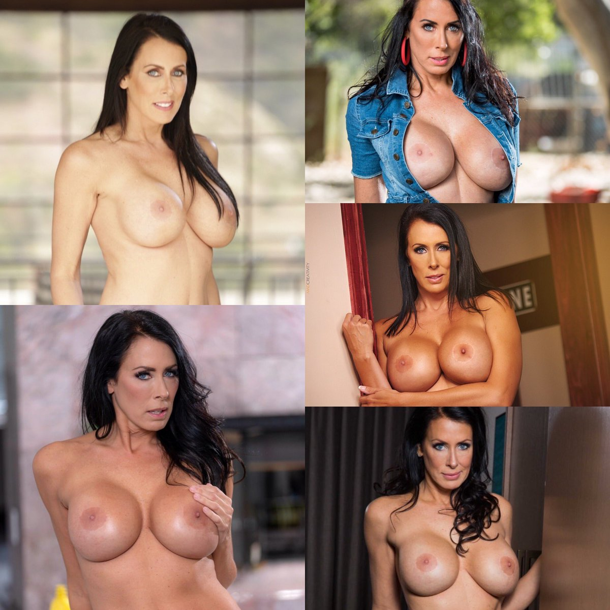 My fav pair of #BigTits #Boobs in the universe!! They belong to the #UltimateMILF #PornStar @TheReaganFoxx she is a #TittyTuesday MVP!! #FoxxNation 😘😍😈