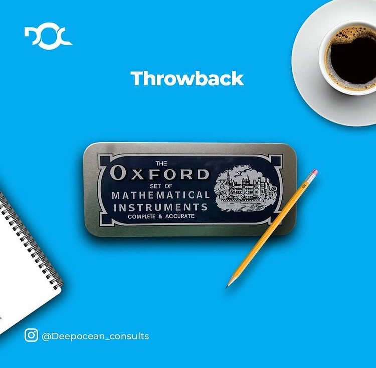 Who can relate with using this?  After a couple of days, it was never ever complete ......something must go missing 😁  True/False?  #Deepoceanconsults #EricaXPartnerMobile  #ThrowbackThursday