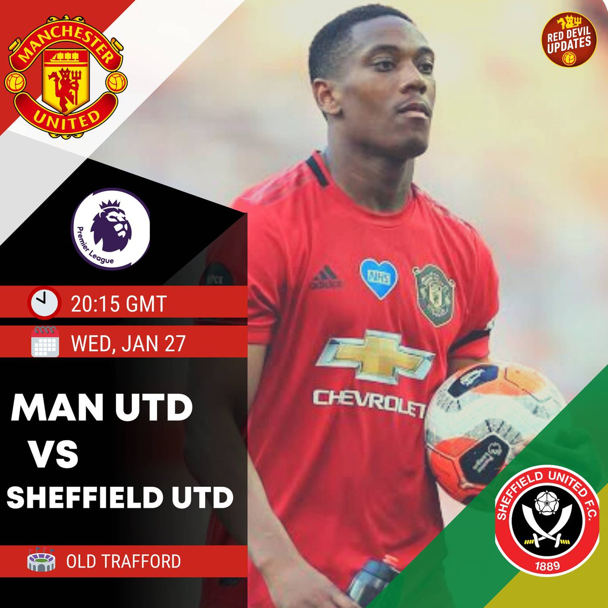 🔴 It's matchday!  #mufc host Chris Wilder's Sheffield United at Old Trafford.  What are your score predictions?