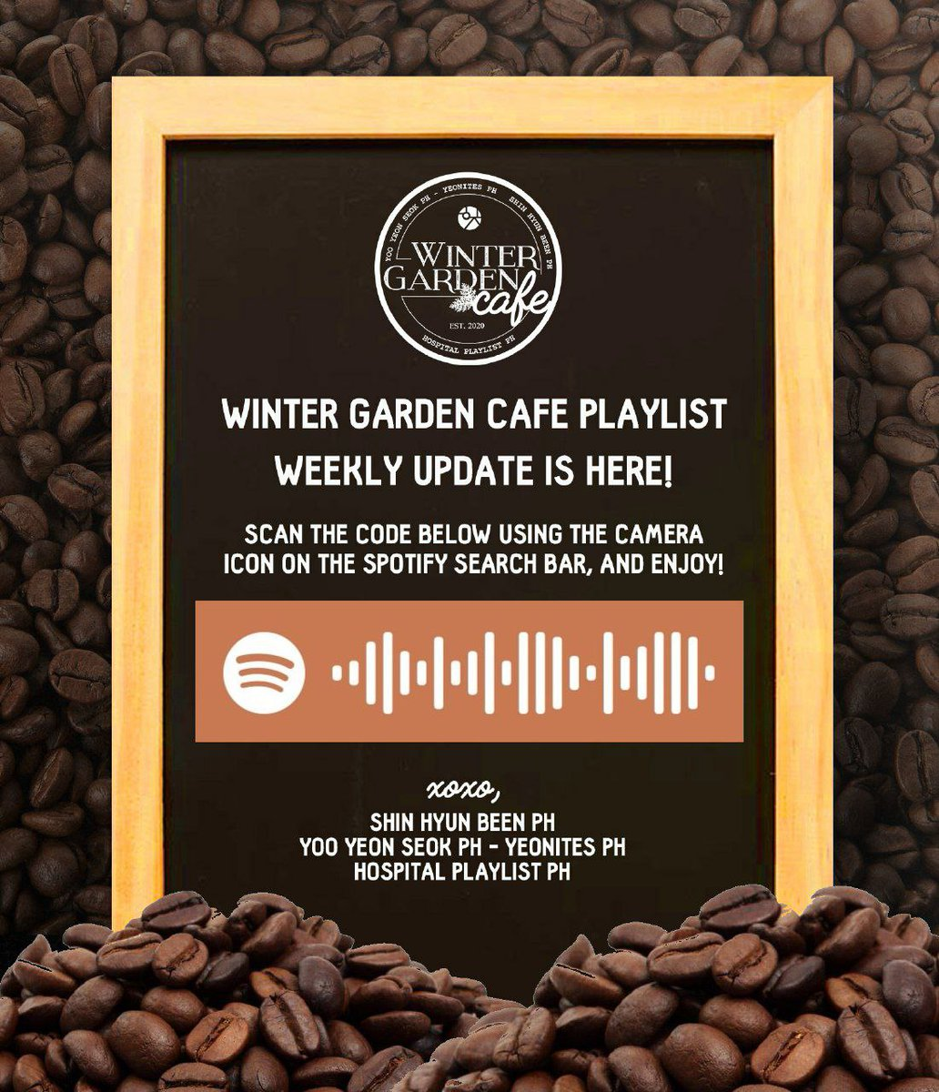 Feel the coffee shop vibes again and turn on the playlist WinterGarden Cafe has updated on Spotify for everyone to get them WinterGarden feels! Dont forget to send love and support for our coffee truck project! See full project details on the reply below: