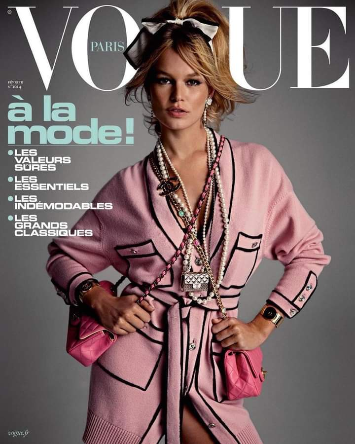 #wednesdayisforpink 🌸 #fashion #cover #vogue #pink