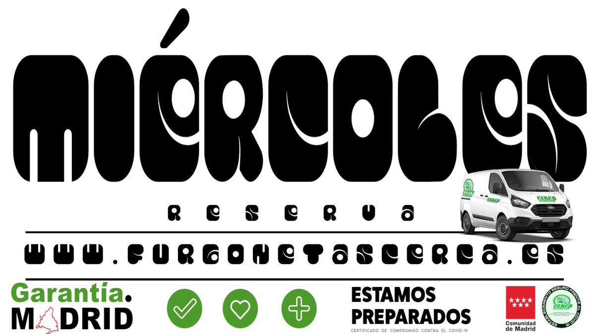 Solicita información o reserva una #furgoneta este #Miércoles ℹ️ 📲646 45 28 71 / 91 641 18 48 . . . #Cerca #Alcorcón #GarantíaMadrid #FelizMiércoles #27enero #awesamtwtselfieday #ProtectNayeon #wednesdaythought #WednesdayMotivation #finchèEsiste