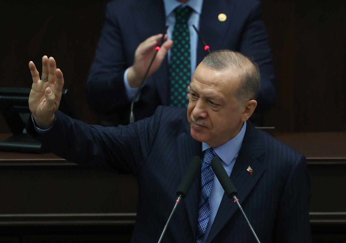 Genel Başkanımız ve Cumhurbaşkanımız Recep Tayyip Erdoğan, TBMM'de grup toplantımıza katılarak konuşma yaptı.