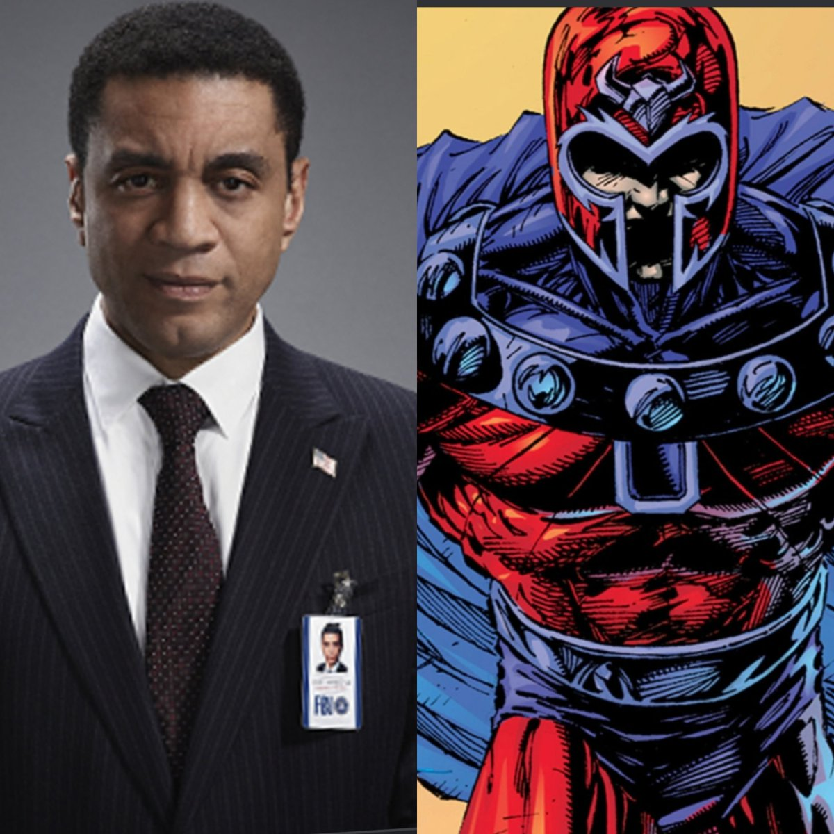 Standing at 6'4, Harry Lennix is the best pick for #magneto  #XMenVote