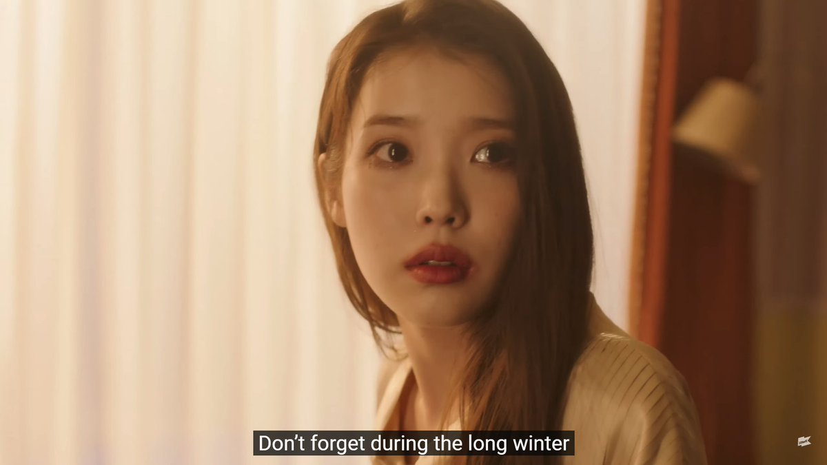 """""""Don't forget during the long winter A flower can bloom between the frozen cracks Can't you see how beautiful  Tomorrow's spring is to be You're my celebrity."""" ❤️  #아이유_Celebrity_6시발매 #CelebrityIU 🔗"""