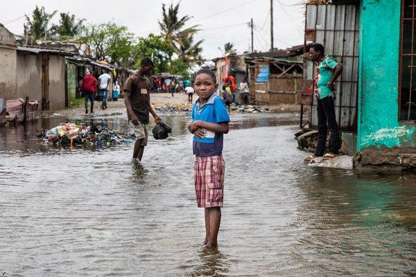 #CiclónEloise: Nuestros equipos de emergencia están sobre el terreno, evaluando la situación para garantizar una respuesta rápida a las necesidades de las familias y los niños afectados en Beira, Mozambique