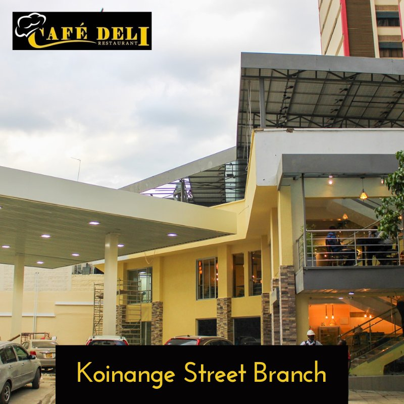 Our newest branch provides the perfect ambiance dining, celebration of special events and happy hour sessions with your friends.  It is located at Rubis petrol station, Koinange Street, Nairobi.  #cafedelinairobi #restaurant #dinein #eatout #takeout  #wednesdaythought