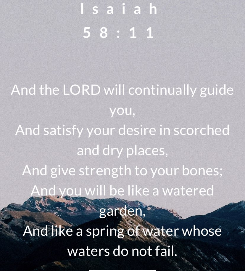 On this Wednesday, May the Lord guide you and give you strength.  #wednesdaythought #faith #Strength #TrustGod