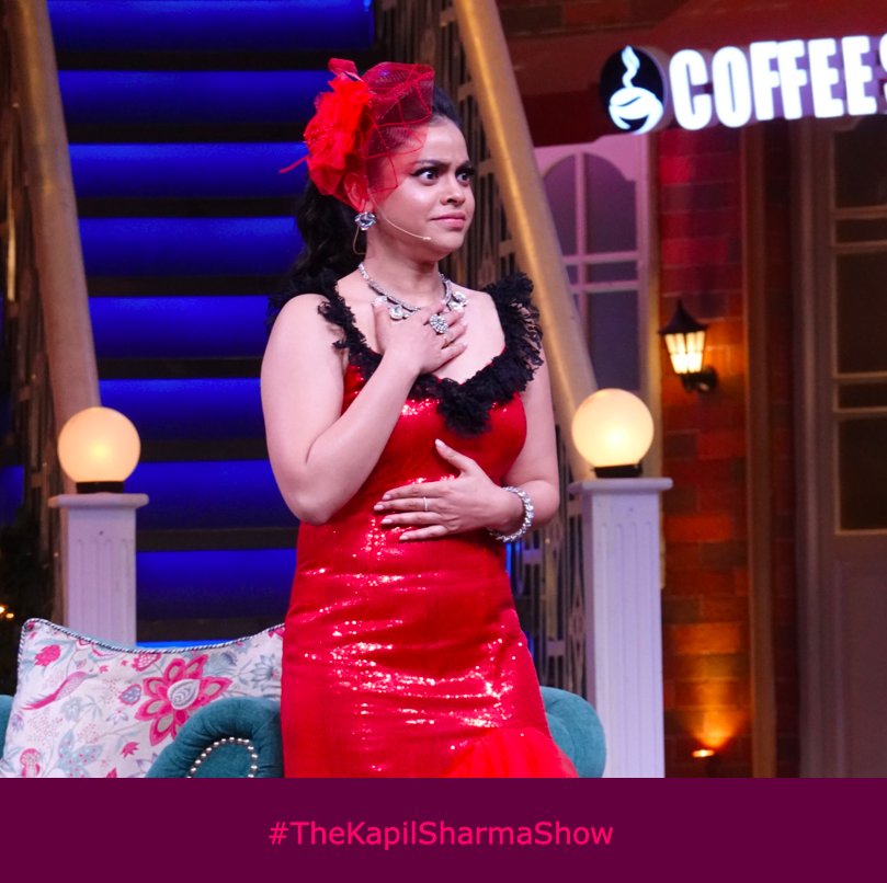My last brain cell watching me make the same stupid decision yet again! @sumona24 #TheKapilSharmaShow #WeAreBanijay