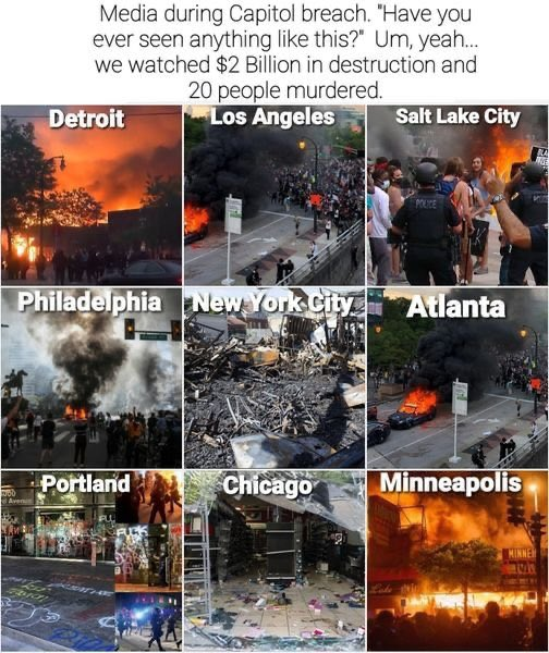 Liberals think a #QCongress is worse than a Congress that incited riots all over the country all summer... Let's be honest, who's REALLY wacko here?