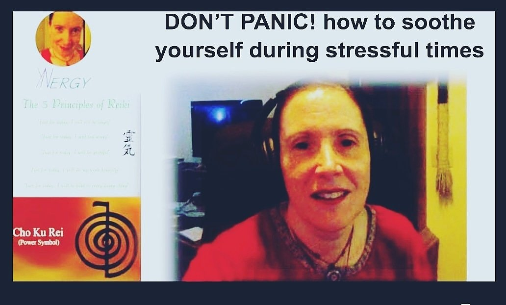 DON'T PANIC! how to soothe yourself, even during stressful times  Watch Now:   #EdenMethod #energyhealing #meditation #Healthylifestyle #blackouttuesday