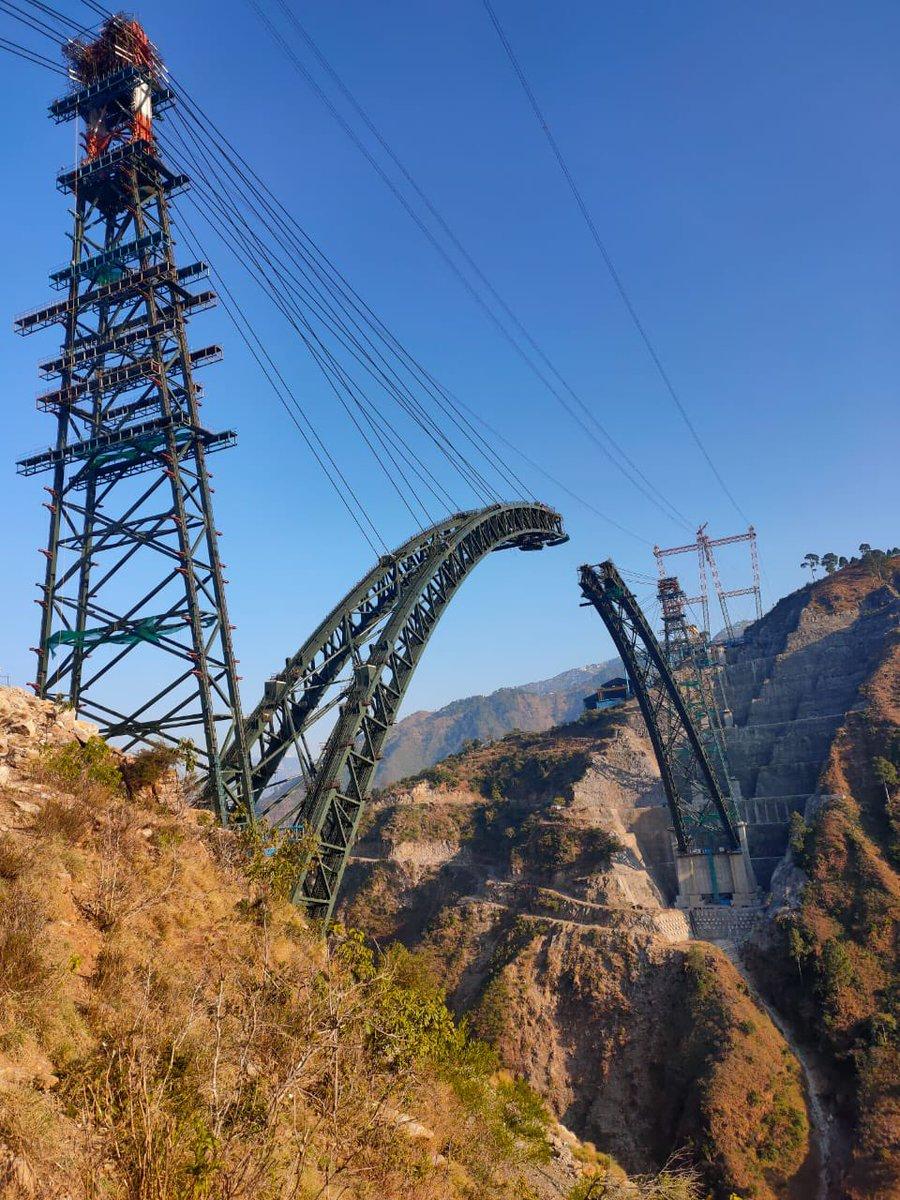 Railway Minister Shri Piyush Goyal reviews progress of Udhampur-Srinagar-Baramulla Rail link Project  Read more...  #indianrailways #railways #bridges #tunnel #construction #infrastructure #project #progress #electrical #electronic #covid19