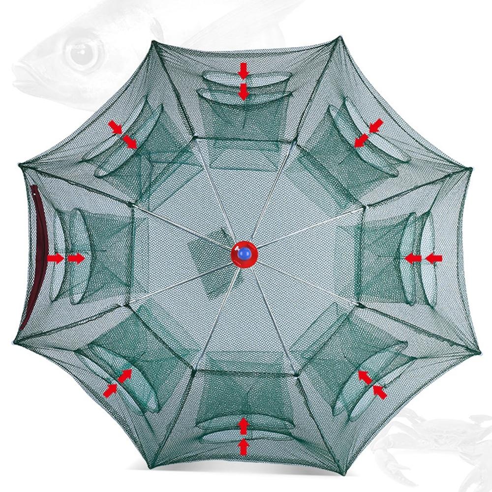 #beauty #beautiful #girl Fishing Net Nylon Foldable Catch Fish 4-28 Holes