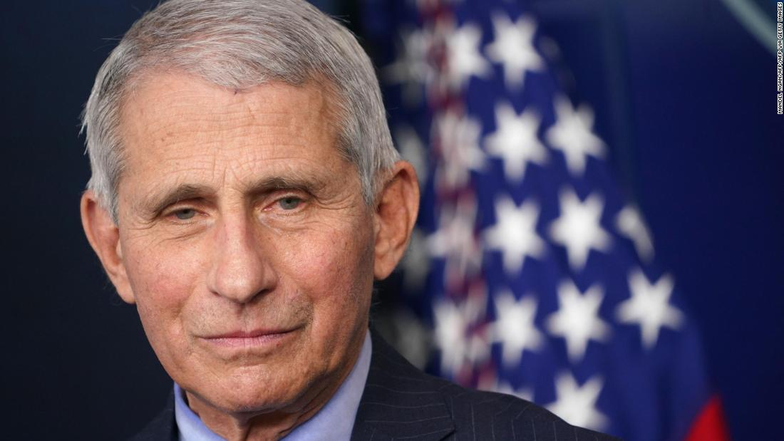 Dr. Anthony Fauci says he worried former President Donald Trumps disinfectant comment would make people start doing dangerous and foolish things cnn.it/3abvcX6