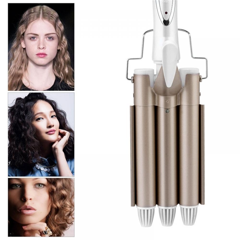 #girl #look Powrful Automatic Ceramic Hair Curler