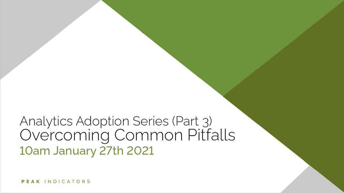 Today is the third and final webinar in our Analytics Adoption Series. There's still plenty of time to sign up, click the link to register https://t.co/aqGtmfEjjH  #Overcome #RiseAbove https://t.co/0dG280PWzT