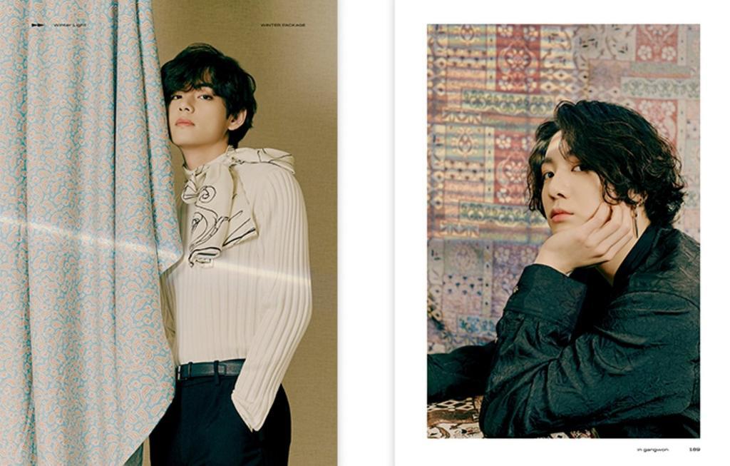 [PHOTO] BTS 2021 2021 WINTER PACKAGE  Photobook Preview. #방탄소년단 #BTS