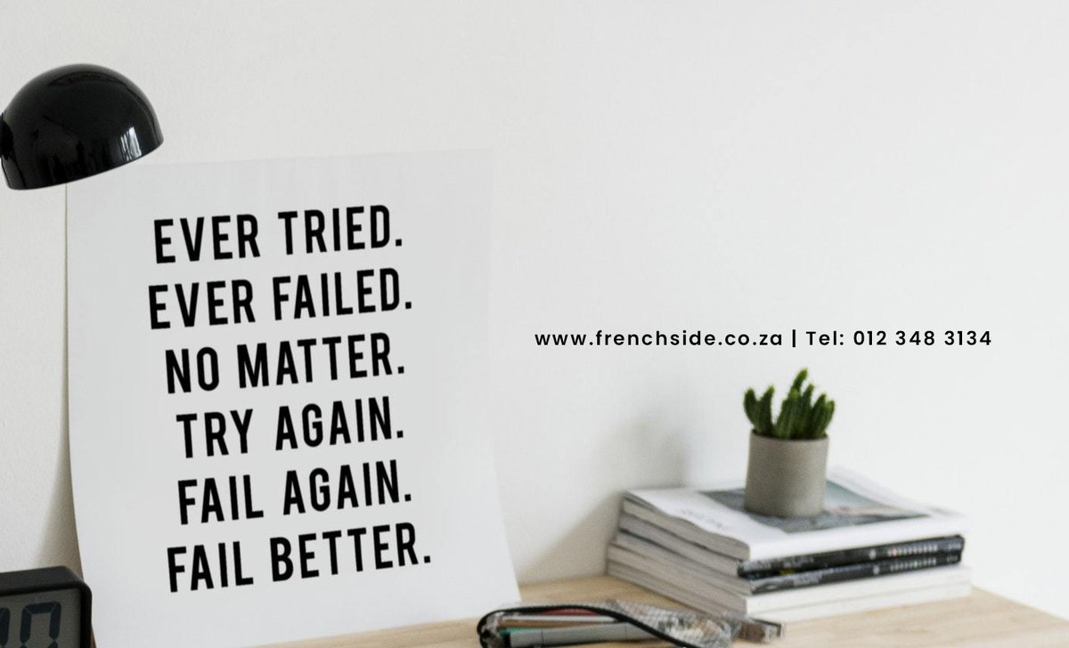 Fail until you get it right this #wednesday. #wednesdaythought #WearAMask #French #WhatsApp #wcw #Telegram #Zlatan #iPhone #ANC #SouthAfrica #Africa #Durban #COVID19 #ChocolateCakeDay #France #nationalgeographicday #senegal #congo #signal https://t.co/FIBFfx90kw