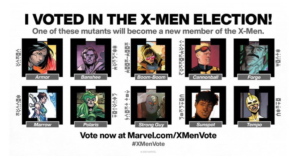 #XMenVote I voted for Polaris