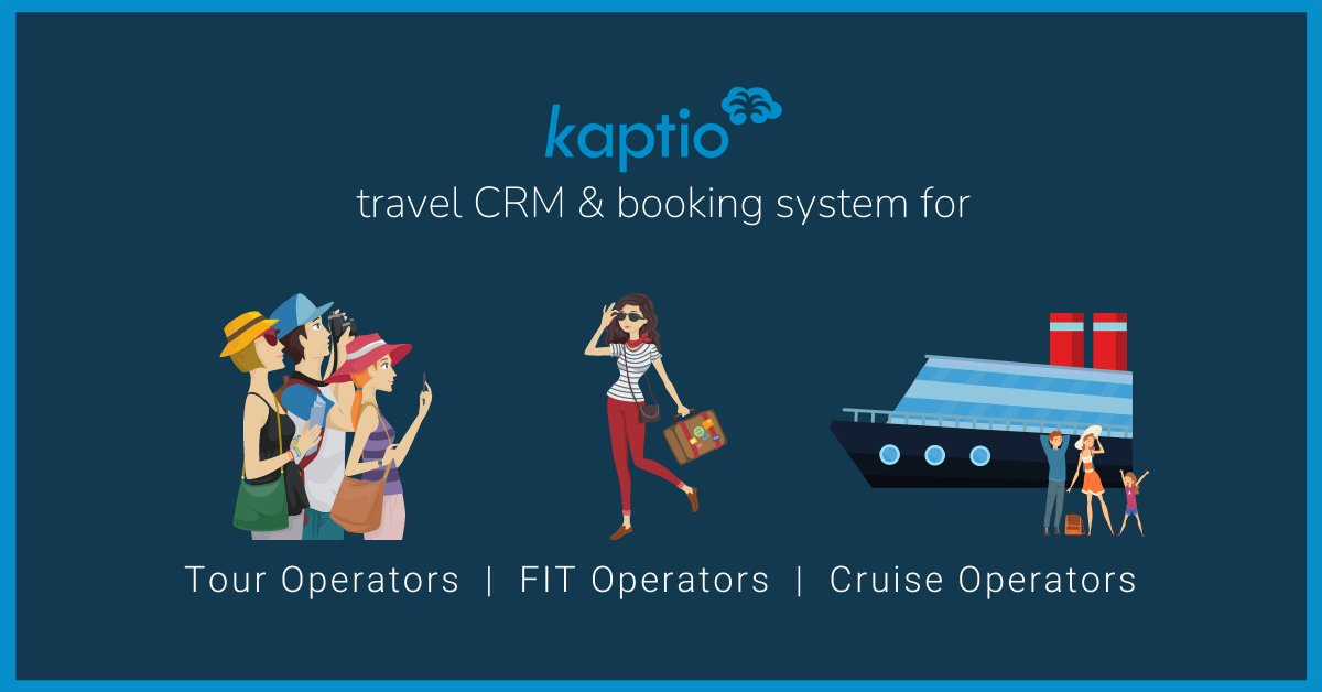 If you are new to following along with #KaptioTravel, let us breakdown who relies on our solution. We custom-fit our #travelCRM and #bookingsystem for operators of multi-day luxury tours, tailor-made #travel & #cruises. If you are in this segment, let's talk! #salesforcepartner