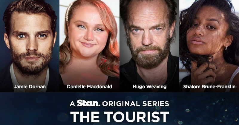 Jamie Dornan to star in the Stan Original Series THE TOURIST alongside Aussie Legends Danielle Macdonald, Hugo Weaving and Shalom Brune-Franklin. #THETOURIST