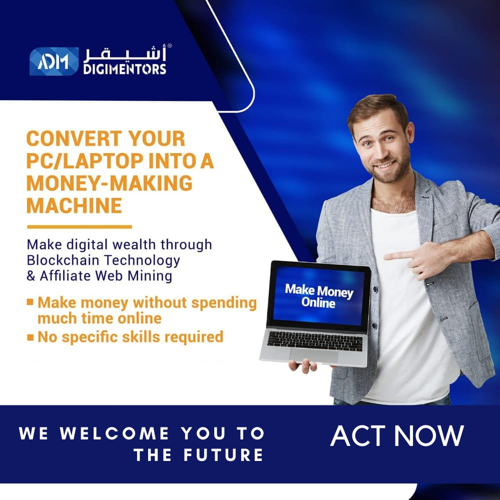The perfect opportunity to earn from home with your PC/ Laptop.  Register through the link - https://t.co/SfswKVTGms  Thank you !! #makemoneyonline #EarnFromHome #earnmoneyonline #webmining #cryptocurrency #FutureChallenge #future #wednesday #WednesdayWisdom #wednesdaymotivation https://t.co/zm8asqNnBo