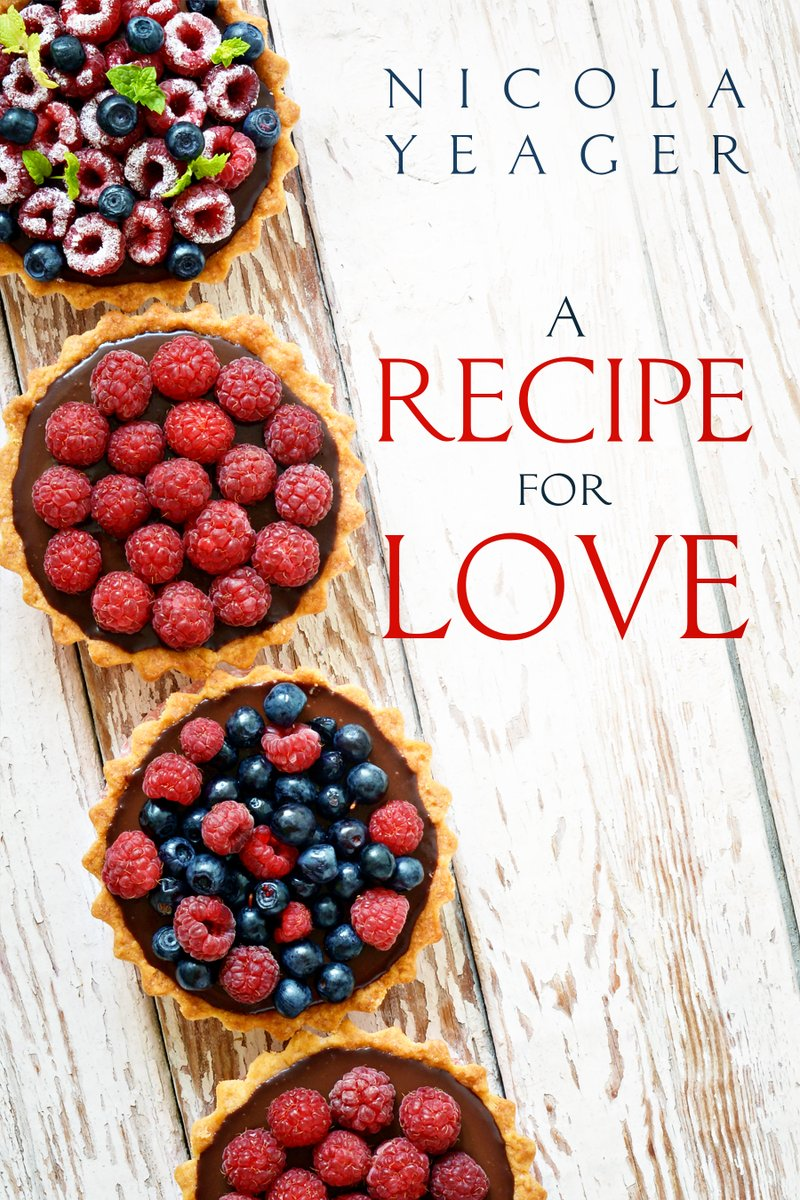 A Recipe for Love by Nicola Yeager. 'Loved this book from beginning to end.'  #Fun #RomCom #Foodie #ChickLit