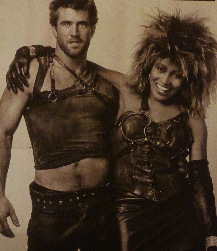 RT @indieimmy: #BehindtheScenes with Mel Gibson and Tina Turner in #MadMaxBeyondThunderdome https://t.co/dvkh9Sf0md
