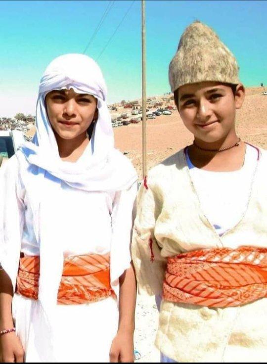 جمال الزي الايزيدي التقليدي