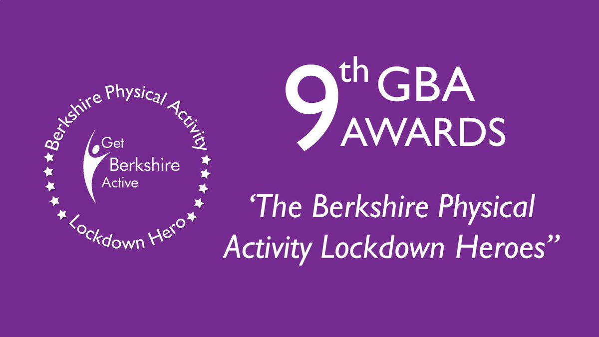 The ongoing pandemic has changed the usual format of the #GBAAwards this year. We will celebrate and recognise the fantastic contributions of #BerkshireHeroes across our online channels including the GBA website and social media platforms.✨Watch this space!✨ #9thGBAAwards