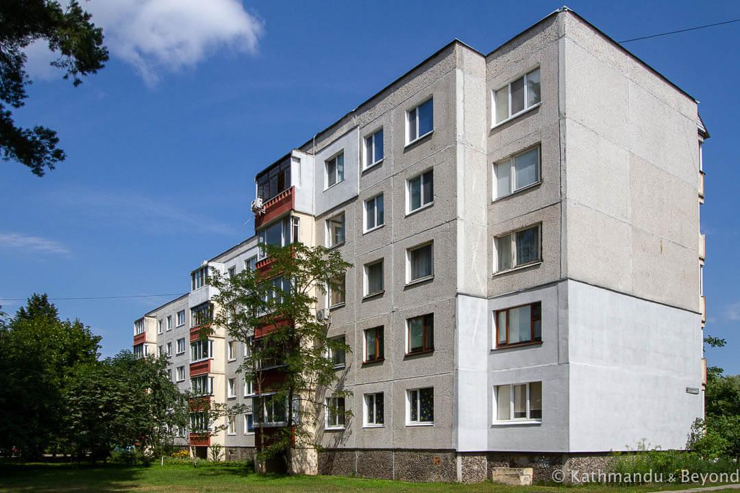 #Photo: Apartment Building (Riga Quarter) inSlavutych, #Ukraine #travel #sovietarchitecture  via @KathmanduBeyond