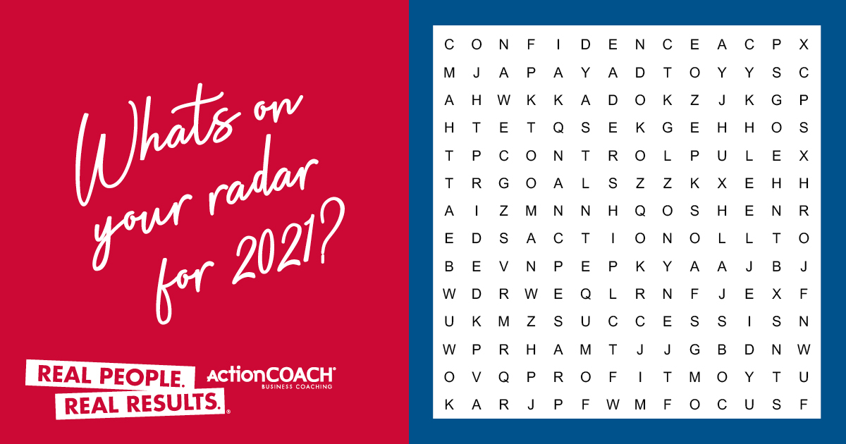 What will you be achieving this year? 🤩  2021 will bring many great opportunities for your business, and your personal life – OWN IT!  Comment the first word you spot, and tell us how you'll be achieving it this year!    #newyear #festiveseason #festivevibes