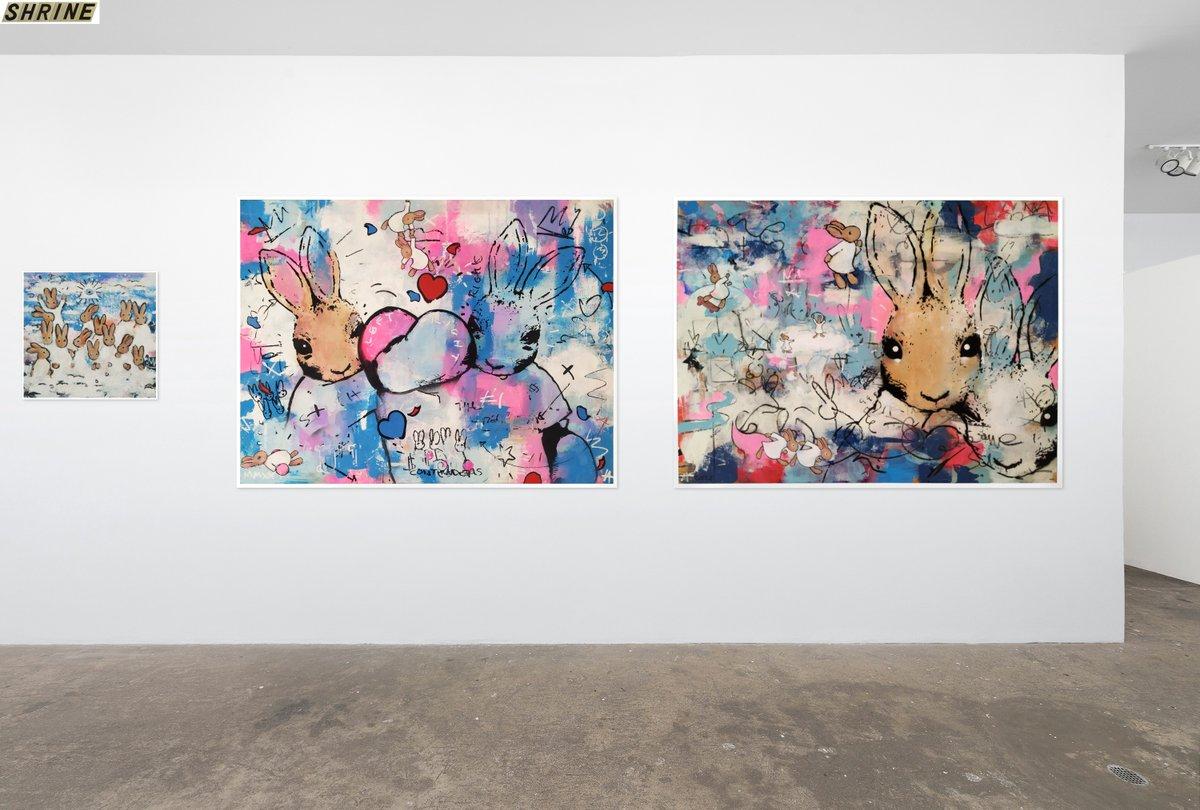 Online digital exhibition @shrine_nyc  #groupshow #NYC #artgallery