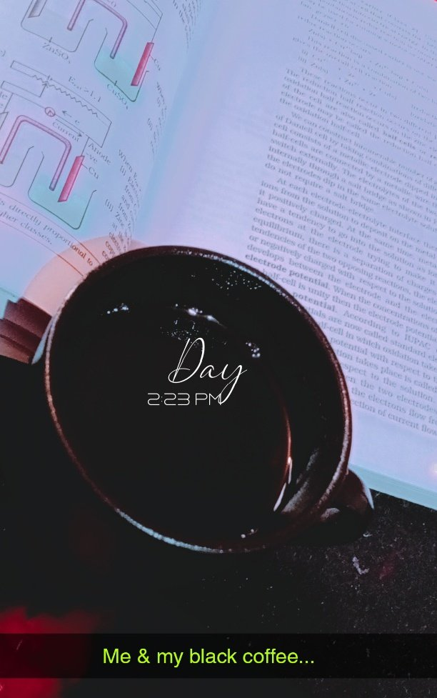 #making a stressful #Day #Perfect with some #black #coffee .... #coffeetime