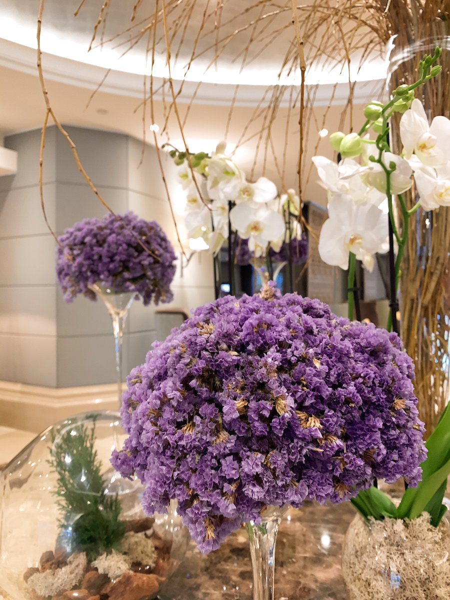 #Details are what make a stay 💐💜 #CorinthiaMoments #Flowers
