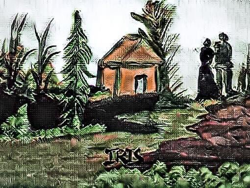 Landscape, painted by @IRISUNART #irisunart #art #artistic #artist #arte #artsy #arts #painting #paintings #paint #watercolor #watercolors #instartist #instalove #instalike #galleryart #onlinegallery #fineart