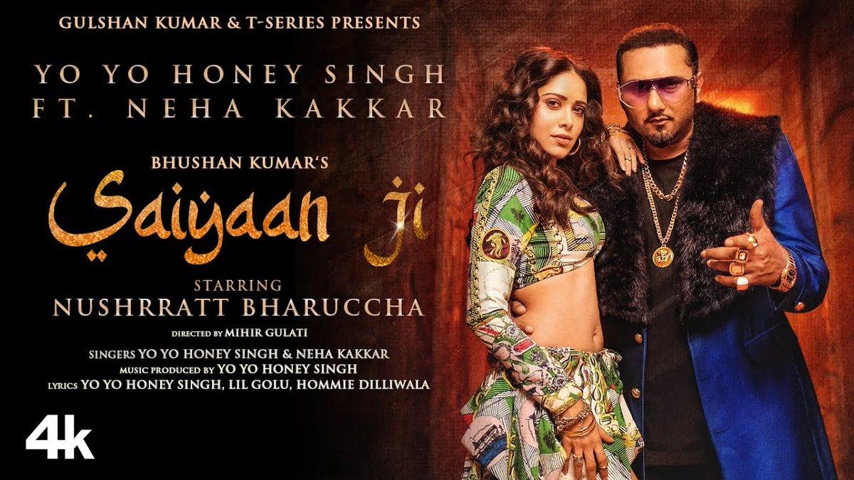 Saiyaan Ji (Lyrics) - Yo Yo Honey Singh & Neha Kakkar    @TSeries @asliyoyo @iAmNehaKakkar @Nushrratt #NushratBharucha #yoyo #honeysingh #NehaKakkar #SaiyaanJi #Trending #NewMusic #musicvideo #music #Video #song #viral #TSeries