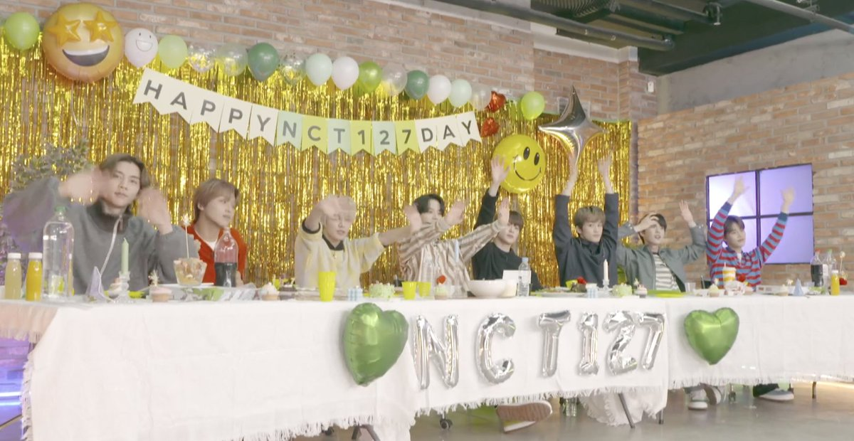 Bye best boys, thank you for today and thank you Taeyong for taking part in one way or another. Our hearts are full ♥️ #NCT127Day