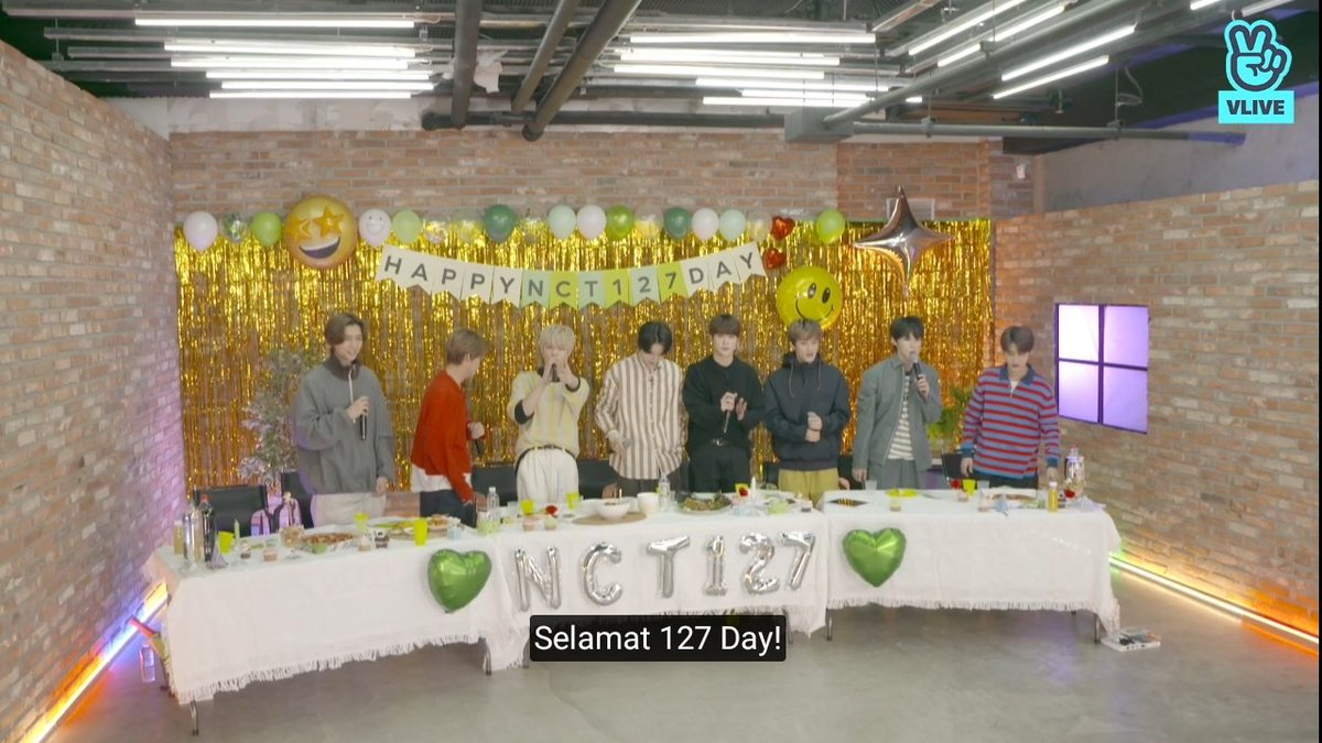 Thank you for today and happy one two seven day nctzen !!!💚  #NCT127Day #NCT127    @NCTsmtown_127