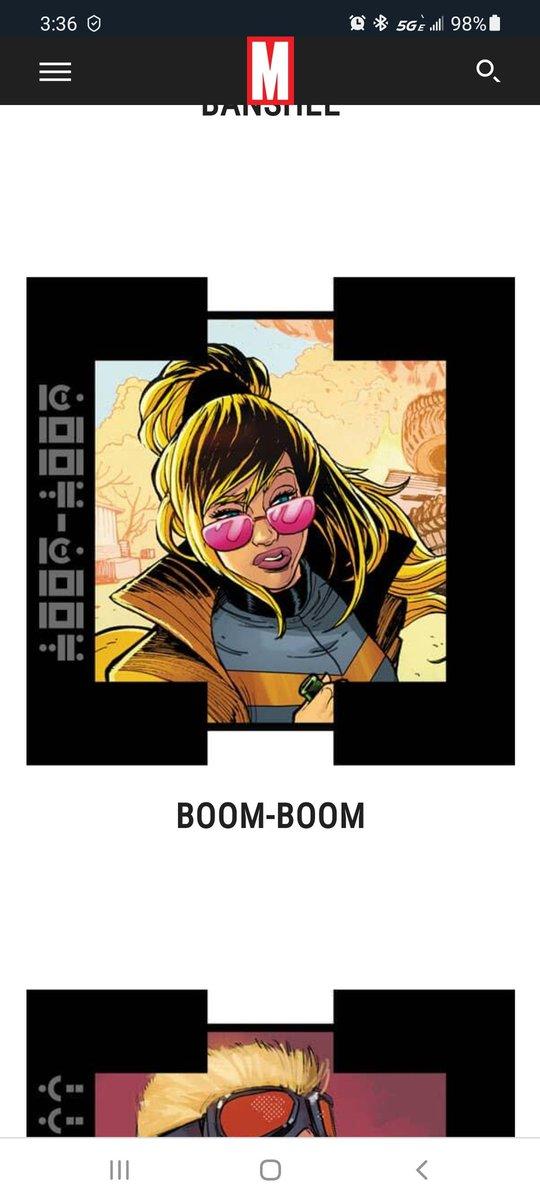 If I gotta pick, then I am voting for Boom-Boom. #XMenVote