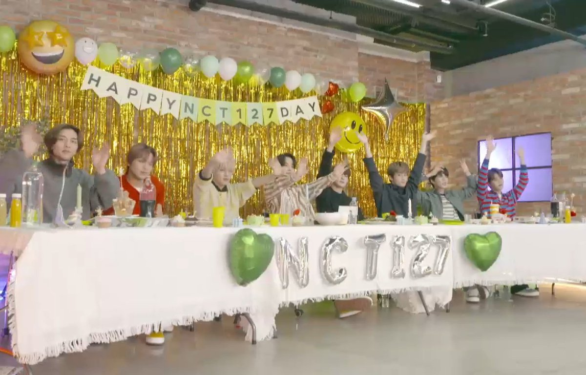 Love you 💚 #NCT127DAY
