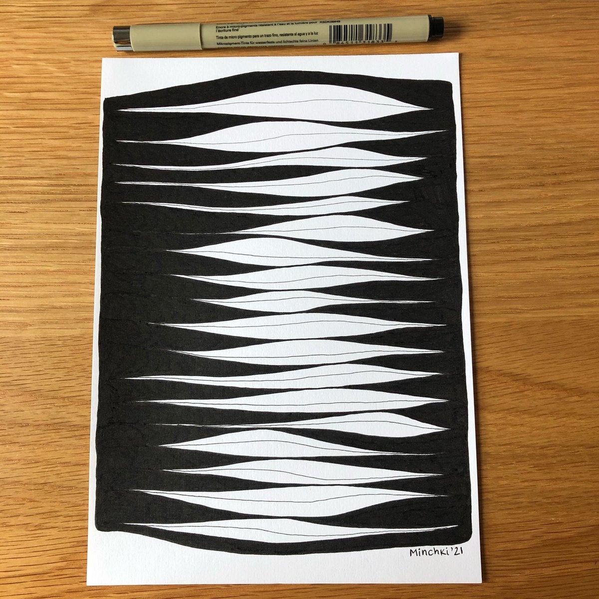#drawingoftheday #design #inkpenart #abstract #artdaily #mind #keepingoing #handdrawn #minchkipatterns #milenamihaylova #EtsySeller #etsyfinds #artistsontwitter #myartwork https://t.co/K3pBWA4n61