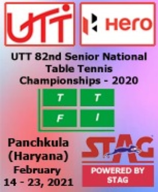 Here we announce UTT 82nd Senior National Table Tennis Championship 2020  going to be held from February 14-23, 2021 at Panchkula, Haryana 🏓    #tabletennis #NationalChampionship #sports