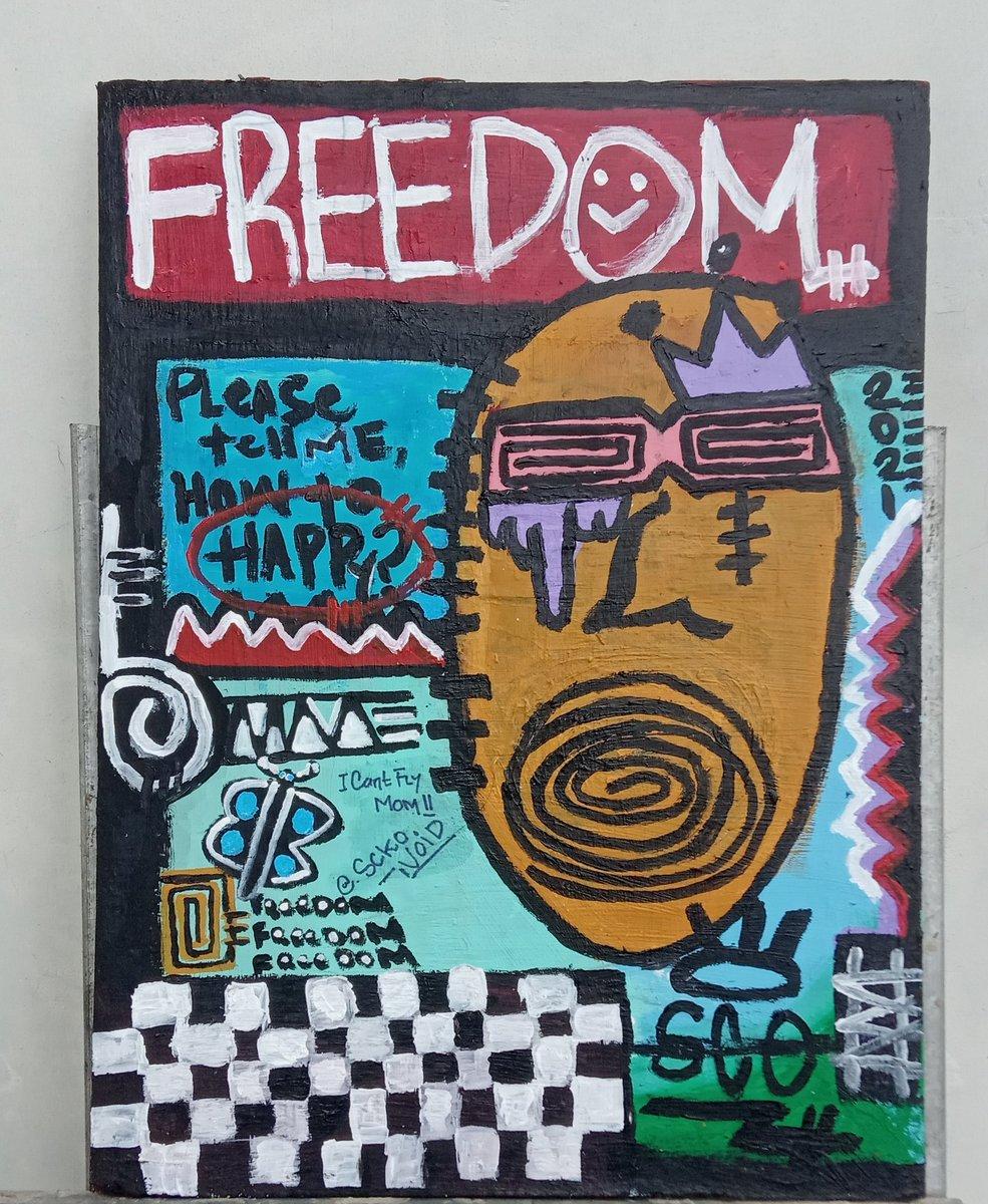 Mencari kesibukan di dalam kehidupan yang suram. #art #painting #abstract #abstractartist #abstrackart https://t.co/musErR8EAK