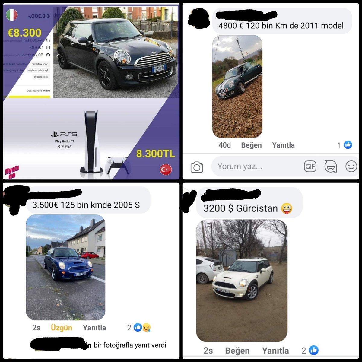 Ben Gürcistan'a taşınıyorum.  Beyuk dedemin akrabalarını bulmam lazım 🙈  Facebook'ta Mini Cooper Türkiye grubundan acı görsel:) Cooper hayali kurarken Getz alan ben için çok acı  #MiniCooper